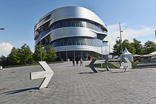 Le musée Mercedes Benz